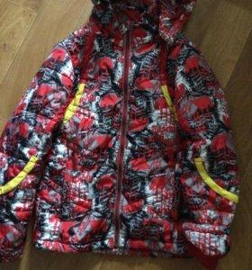 Осенняя куртка рост 140