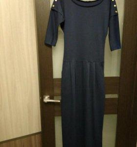 Платье в пол, 46 размер