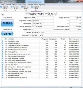 Seagate 200GB