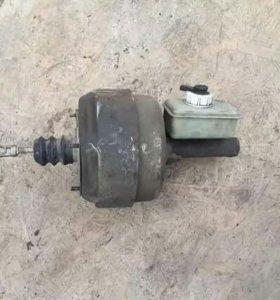 Вакумный усилитель тормозов с цилиндром на газель