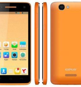Телефон Explay Fresh (оранжевый)