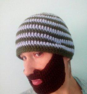 Шапка балаклава борода
