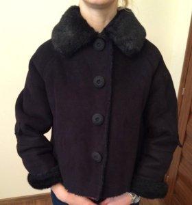 Куртка/дубленка Zara, укороченная, р-р 42-44