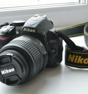Nikon D3100 18-55VR+ сумка Nikon+ зарядка для авто