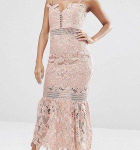 Платье миди Love Triangle