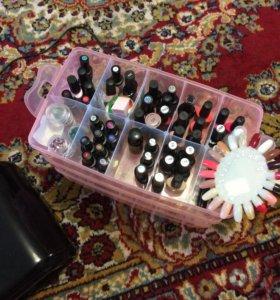Продам набор для покрытия ногтей гель лаком