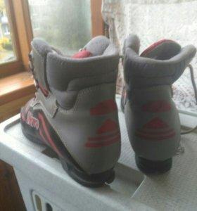 Лыжные ботинки возможен обмен