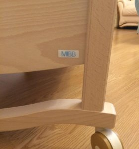 Детская кроватка Mibb Raffaello из Италии + матрац