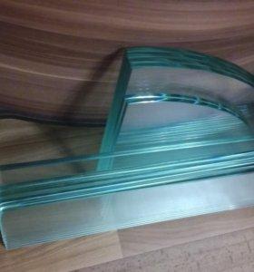 Полочки стеклянные для держателей