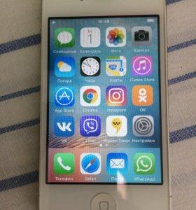 iPhone 4s 16gb отличный