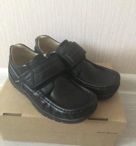 Ботинки кожаные детские новые Minimen