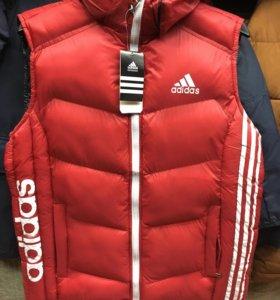 ❤️🖤Жилет Adidas мужской двусторонний