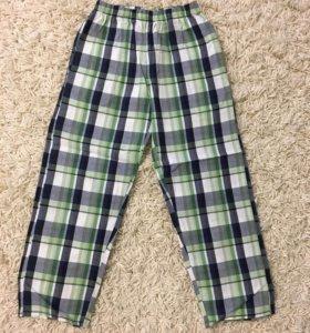Пижамные штаны на 7лет