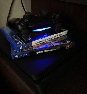 PS4 slim 500GB +gta +rs6
