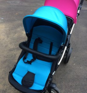 Новая коляска для двойни или погодок