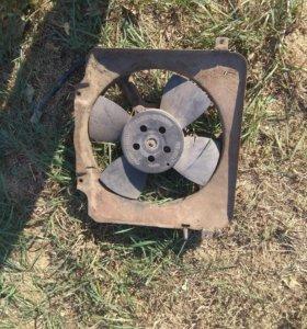 Вентилятор радиатора ваз 21099