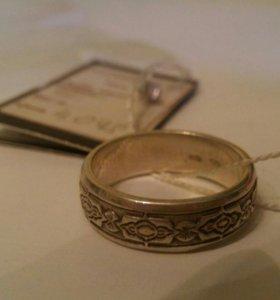 Новое серебряное кольцо Dyulber 19,5