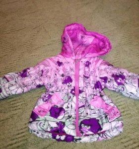 Зимняя куртка 80-86