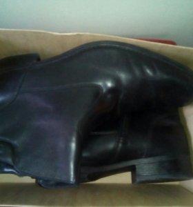 Зимние ботинки.Натуральная кожа и мех