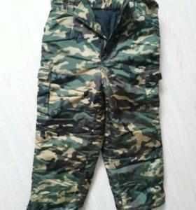 зимние утепленые брюки новые