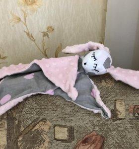 Комфортер зайка, игрушка сплюшка