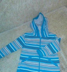 Кофта джепер свитер толстовка детская для девочки