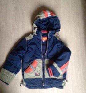 Куртка демисезонная 110-116р