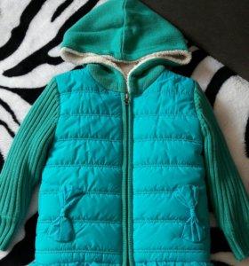 Детская тёпленькая курточка