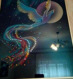 Картина с кристалами Сваровски