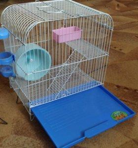 Клетка для хомяков и грызунов