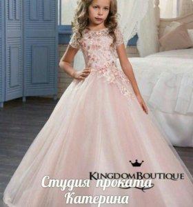 Нарядное детское платье