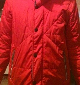 Продам зимнюю куртка рост 164