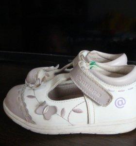 Детские туфли Антилопа