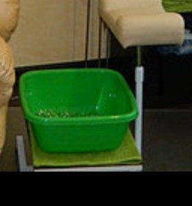 Подставка под ванночку и ногу для педикюра