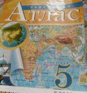 Атлас и контр.карта