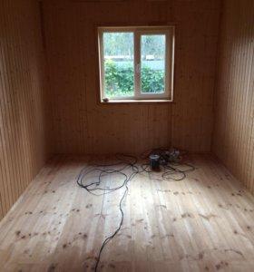 Внутренняя отделка домов,бань!!!