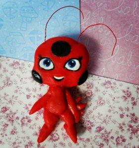 "Брошка ""Тикки Ladybug"""