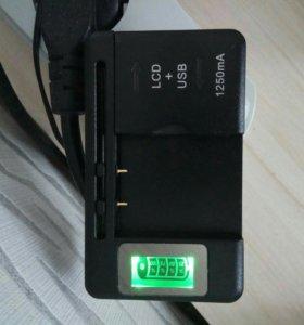 Универсальное зарядное устройство LCD SS-5, новое