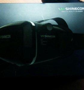 Очки виртуальной реальности + джостик