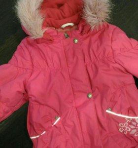 Зимний костюм,ленне. Размер с 86(+5),можно с 81.
