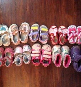 Детская обувь, сандалики, сапоги, мокасины, туфли
