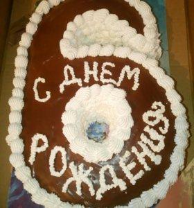 Тортики пироги