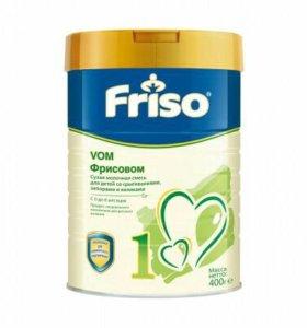 Смесь Friso VOM 1 при срыгивании, коликах, запорах