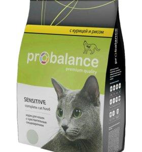 ProBalance Sensitive Корм сухой для взрослых кошек