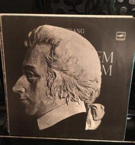 Грампластинка, Моцарт, Реквием