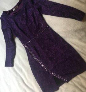 Платье новое фиолетовое