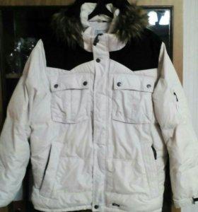 Мужская зимняя куртка 52 - 54 размер.