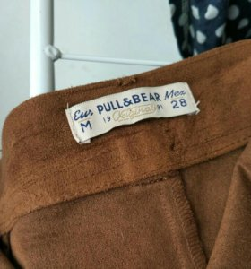 новая замшевая юбка р.28 и р.30 pull&bear