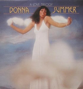 LP Donna Summer – A Love Trilogy.- 1976