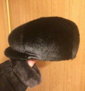 Шапка зимняя из нерпы